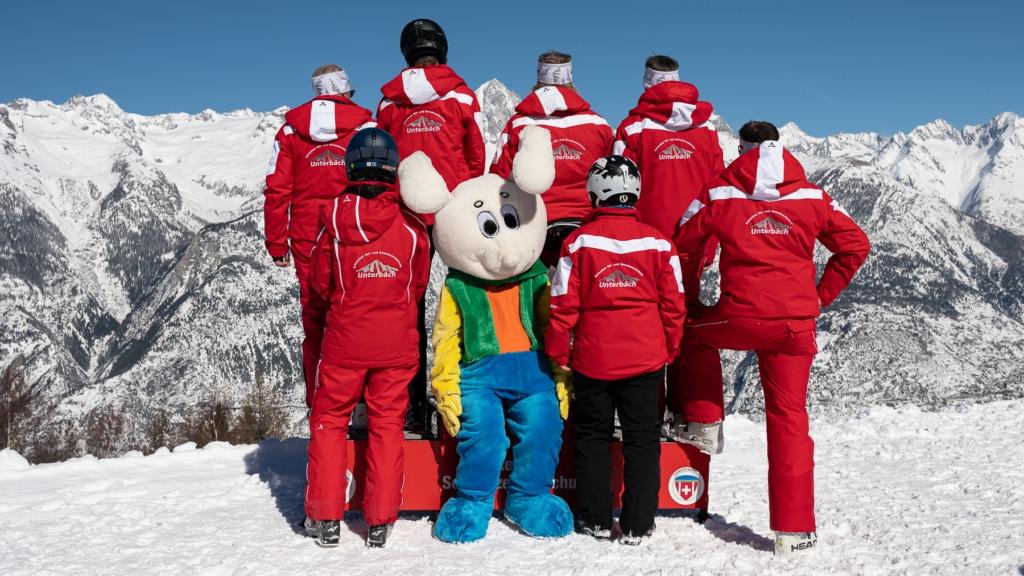 Team mit Snowli