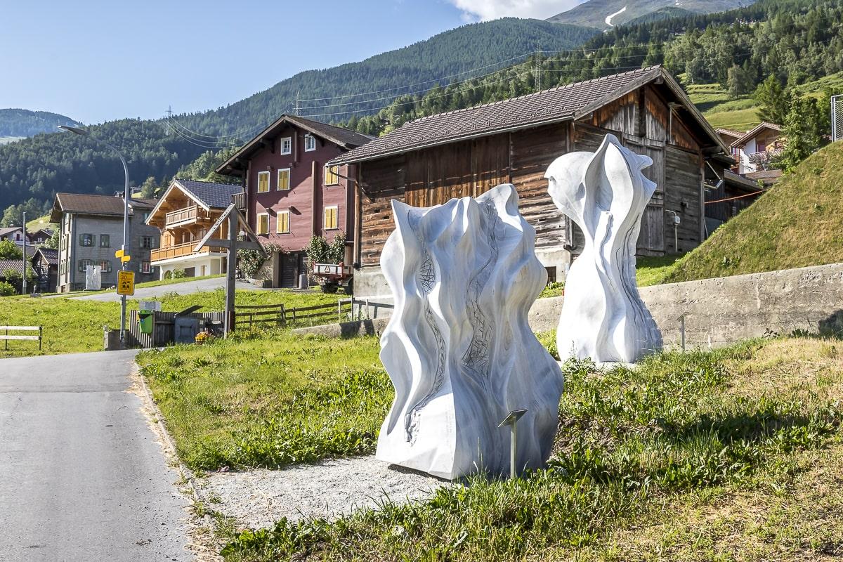 Skulpturen Unterbäch