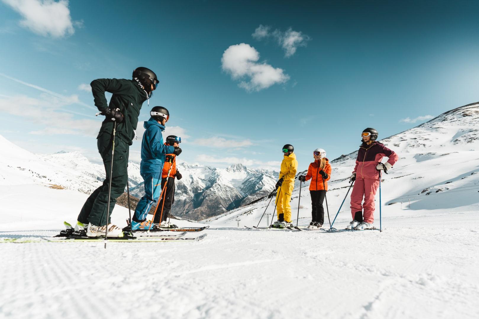 Skifahren Ginals-Unterbäch