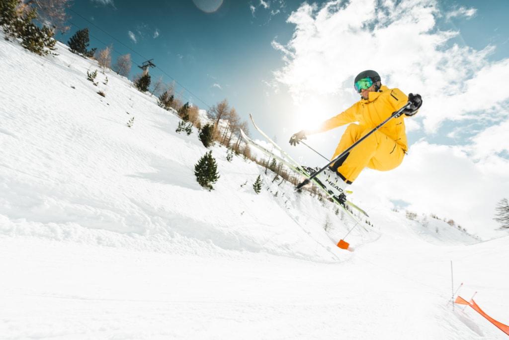 Skifahren in Unterbäch