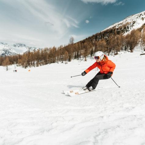 Skifahren im Ober Sänntum, Unterbäch