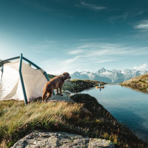 Campieren am Chrummsee