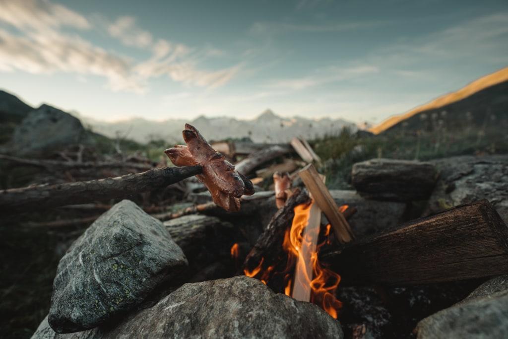 Feuerstelle beim Chrummsee