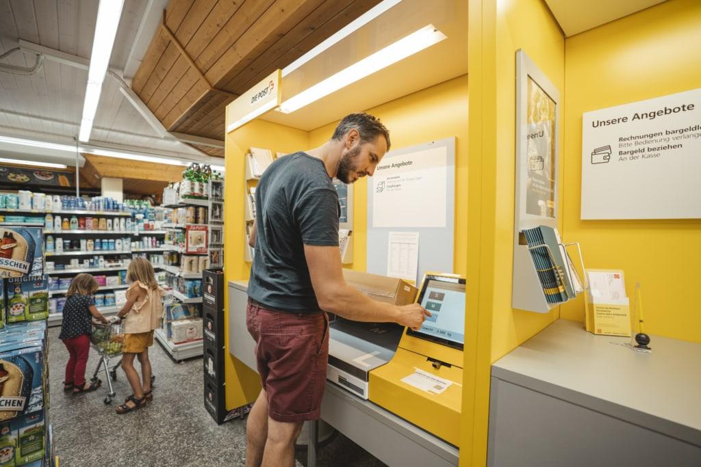 Poststelle im Volg Unterbäch