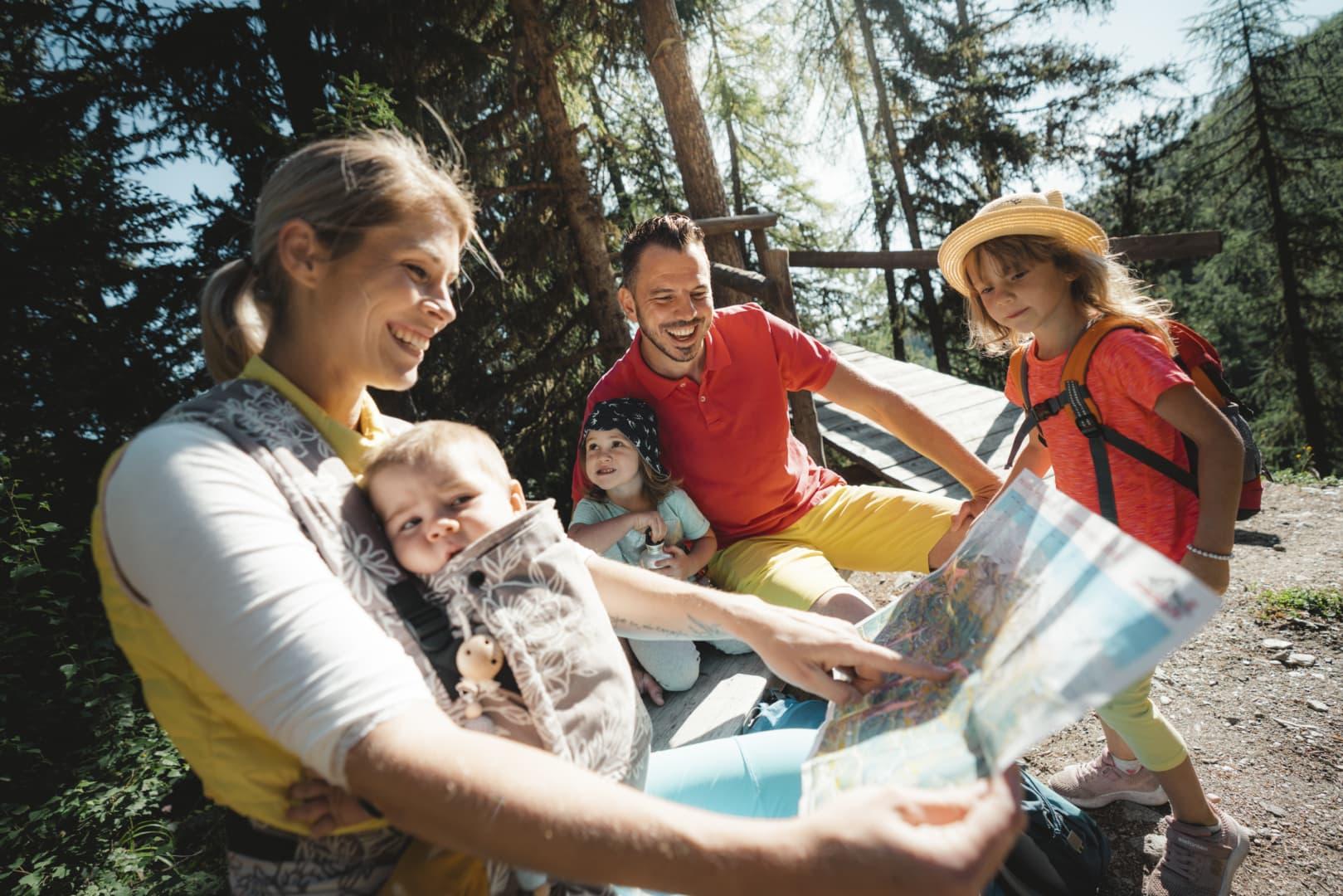 Familienwandern in Unterbäch