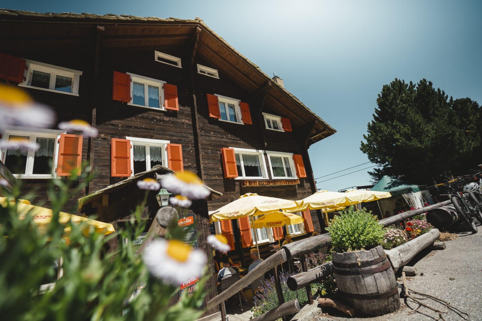Bergrestaurant Alpenrösli Unterbäch